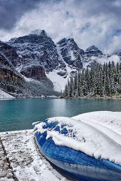Moraine Lake in Banff National Park in Alberta, Canada | Jack Booth