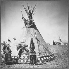 Running Crane - Blackfoot - 1894