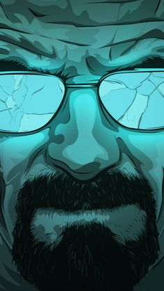 Walter Artwork iPhone 5C / 5S wallpaper