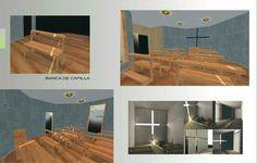 Anteproyecto docente Capilla imspiratada en Arq. Tadao Ando - Quito