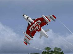 "Patrouille Suisse, Hawker Siddeley Mk. 58 ""Hunter"""