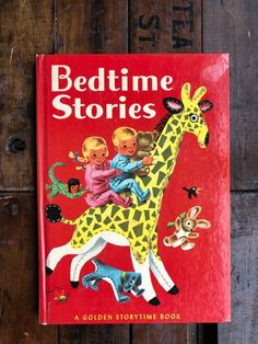 Excited to share this item from my shop: Bedtime Stories by Kathryn Jackson - Pictures by Richard Scarry ~ Vintage Golden Storytime Book ~ 1963 Edition Richard Scarry, Show Lights, Bedtime Stories, Story Time, Short Stories, Childrens Books, Poems, Jackson, Pictures