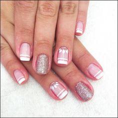 French Nails, Raspberry, Nail Designs, Hair Beauty, Nail Art, How To Make, Nail Trends, Art Nails, Gel Nail
