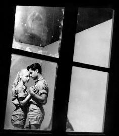 Sal Mineo and Jill Haworth in «Exodus». 1960