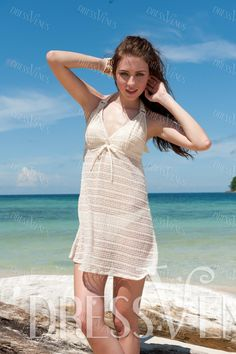 Sexy Bikini Set With Cover-up, Cover-up