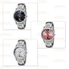Elegantní dámské hodinky se srdíčkovým motivem - 3 barvy - Dámské hodinky - Hodinky