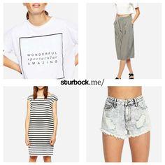 Wonderful, spectacular, amazing: T-Shirt, Hosenrock, Kleid und Shorts. Hier entdecken und shoppen: http://www.sturbock.me/guide/