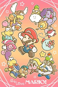 We Love MARIO! by こっこ