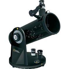 Spiegel-Teleskop National Geographic 114/500, DOBSON Azimutal Dobson, Vergrößerung 25 bis 167 x