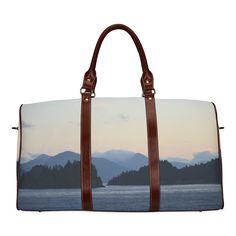 Sunrise in Tourelle Waterproof Travel Bag/Small (Model Large Bags, Small Bags, Waterproof Fabric, Purple Rain, Cosmetic Case, Travel Bags, Gym Bag, Sunrise, Purses