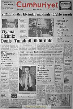 Cumhuriyet gazetesi 23 ekim 1975
