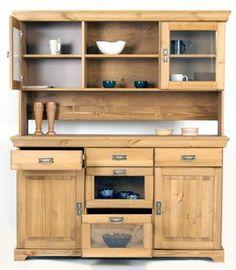 Teakholzmöbel küche  Sideboard Cordoba 2türig/6Körbe Teak massiv Holz Möbel ...