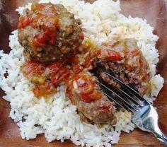 Albondigas Colombianas/ Colombian Meatballs
