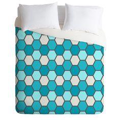 DENY Designs Home Accessories | Holli Zollinger Ocean Tile Duvet Cover