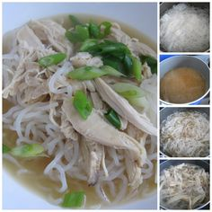 Quick and Easy Chicken Meal-Low Carb Keto Chinese Chicken Noodle Bowl Boil Corn On Cob, Low Carb Keto, Low Carb Recipes, Low Carb Noodles, Boiled Chicken, Chinese Chicken, Noodle Bowls, Cheat Meal, Rotisserie Chicken