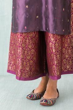 Goodearth - Kashika:Brocade Begum Chandi Farshi