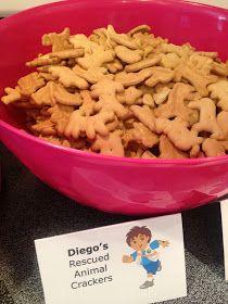 Teach Academy: Dora the Explorer Birthday Party- THE FOOD