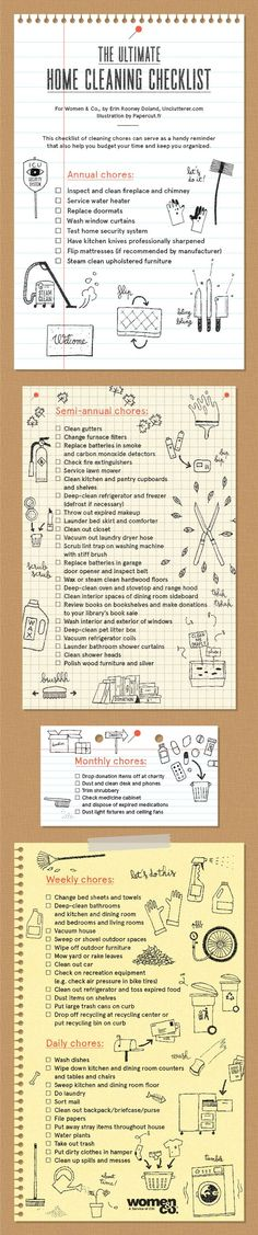 Need This: Ultimate Home Cleaning Checklist!