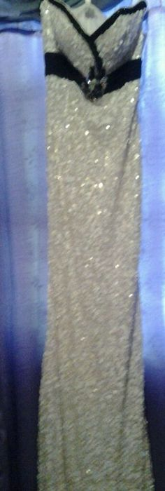 Wedding Fishtail Sequin silk Gown Pageant Ball Gown Evening Party Long Dress #ZEHUI #BallGown #Cocktail