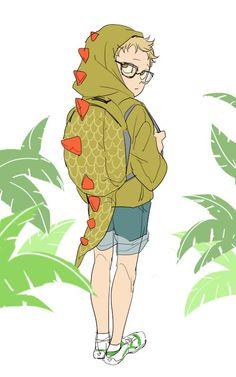 Anime Chibi, Anime Manga, Anime Guys, Haikyuu Tsukishima, Haikyuu Fanart, Haikyuu Anime, Otaku, Tsukkiyama, Kurotsuki