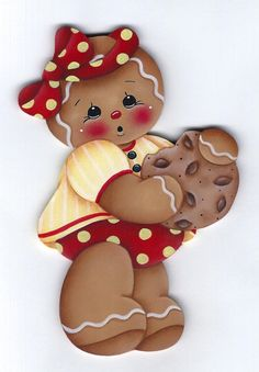 Yummy Cookie Gingerbread Painting E-Pattern by GingerbreadCuties