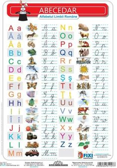 Alfabetul cu liniatura tip 1 DUO - plansa de perete pe Compari. Alphabet Writing, Preschool Writing, Alphabet Crafts, Preschool Learning Activities, Preschool Activities, Animal Activities For Kids, Letter Activities, Math For Kids, Fun Math