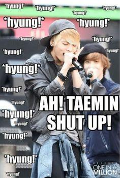 SHINee :: LOL!!! ^o^ (Jonghyun + Taemin)