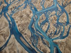 Iceland, Braided streams