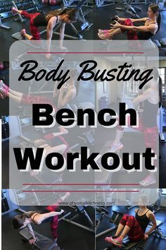 An incredible, total body workout. All you need is a bench and a few hand weights to tone every part of your body.