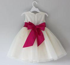 The Sofia Dress: Handmade flower girl dress, tulle dress, wedding dress…