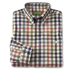 Just found this Mens Wrinkle Free Cotton Shirts - Pure Cotton Wrinkle-Free Long-sleeved Shirts -- Orvis on Orvis.com!