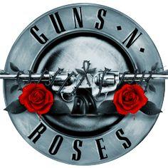 Guns N' Roses Silver Logo