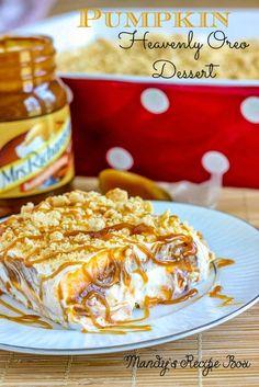 Mandy's Recipe Box: Pumpkin Heavenly Oreo Dessert