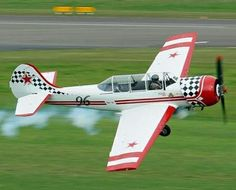 FreemanX Aerobatic Flight in a Yak 52 (20min) - Tauranga