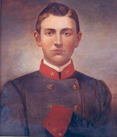 Confederate Major Joseph White Latimer died August 1st 1863 from wounds he received during the Battle of Gettysburg.