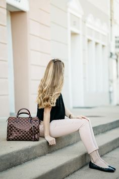 The Polished Posy - Louis Vuitton Speedy Damier from Trendlee / Handbag / Spring Style / Fashion