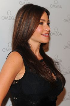 More Pics of Sofia Vergara Dark Lipstick (10 of 46) - Dark Lipstick Lookbook - StyleBistro