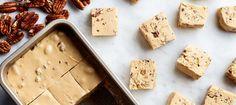 Maple Pecan Fudge / Photo by Chelsea Kyle, Food Styling by Kat Boytsova