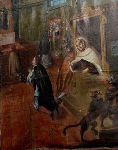 La confesión de San Juan de la Cruz
