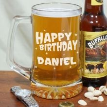 Personalized Birthday Glass Mug. All of our Engraved Birthday Beer Steins are personalized FAST & EASY so they arrive on time. Personalize your Birthday Glass Mug with any age. Personalized mugs include FREE personalization. 21st Birthday Glass, 60th Birthday Gifts, Birthday Mug, Birthday Ideas, Happy Birthday, Birthday Parties, Birthday Basket, Thirty Birthday, Funny Birthday
