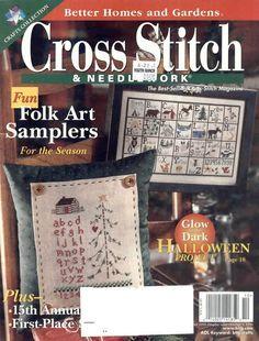 Better Homes and Gardens Needlework Complete Magazine Folk Art Samplers