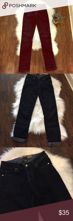 "•Paige• Skyline Skinny Jeans Paige, Dark Wash, Skyline, Inseam Inseam Approximately 29.5"" (w/o rolling). In Excellent Used Condition. Paige Jeans Jeans Skinny"