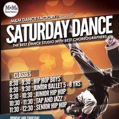 Saturday dance classes