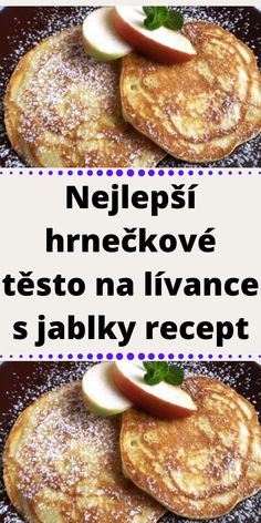 Czech Recipes, Ethnic Recipes, Baked Potato, Ham, French Toast, Menu, Baking, Breakfast, Sweet