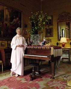 Deborah Mitford, Duchess of Devonshire @  Chatsworth house.