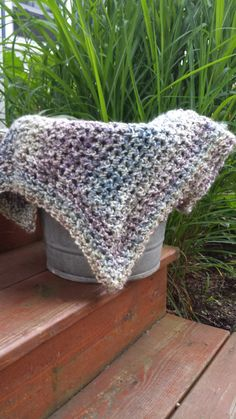 Mini Blanket Layering Piece Baby Wrap Photo by LittlestYarnShop