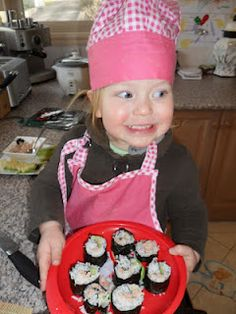 Get Kids Cooking- How to make sushi rolls