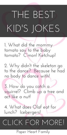 Jokes For 5 Year Olds: Super Funny Jokes To Make Your Kid Crack Up - Sometimes it's hard to find truly funny jokes for kids. These jokes are not only hilarious, but t - Best Kid Jokes, Funny Jokes For Kids, Funny Memes, Hilarious Jokes, Toddler Jokes, Memes Humor, Fun Funny, School Appropriate Jokes, Videos Funny