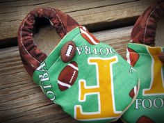 Football Baby Shoes $16.00
