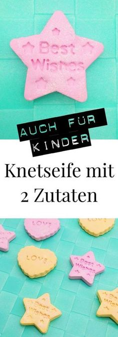 gifts for kids DIY Knetseife selber machen: - gifts Cute Diy Crafts, Kids Crafts, Adult Crafts, Clay Crafts, Diy Gifts For Kids, Presents For Kids, Diy For Kids, Easy Gifts, Craft Gifts